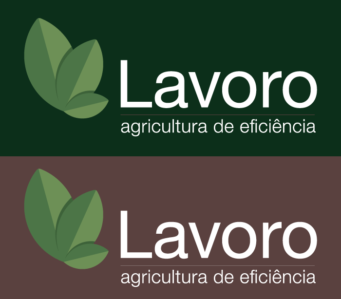 Logo Lavoro Buffo Design ID Goiânia Paleta de Cor