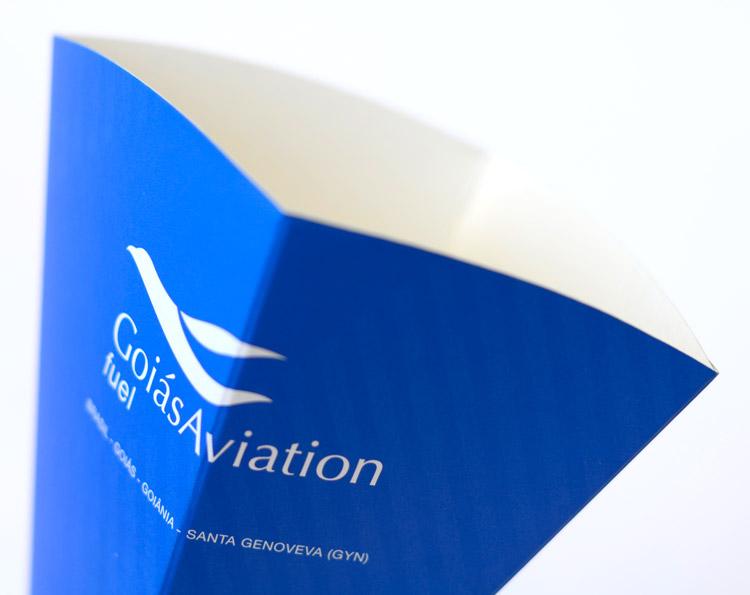 Funil para abastecimento Goiás Aviation Buffo Design Goiânia